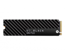 WD 1TB M.2 PCIe NVMe Black SN750 Heatsink (WDS100T3XHC)
