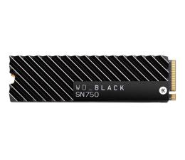 WD 500GB M.2 2280 PCI-E NVMe SSD Black SN750 Heatsink (WDS500G3XHC)
