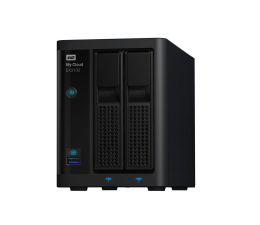 WD My Cloud EX2100 8TB czarny (WDBWAZ0080JBK-EESN)