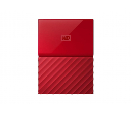 WD My Passport 1TB czerwony USB 3.0 (WDBYNN0010BRD-WESN)