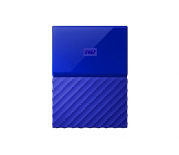 WD My Passport 1TB niebieski USB 3.0 (WDBYNN0010BBL-WESN)