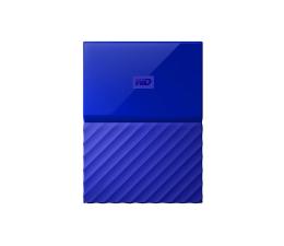WD My Passport 3TB niebieski USB 3.0 (WDBYFT0030BBL-WESN)