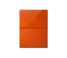 WD My Passport 3TB pomarańczowy USB 3.0 (WDBYFT0030BOR-WESN)