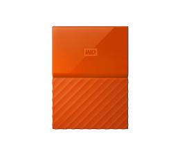 WD My Passport 4TB pomarańczowy USB 3.0 (WDBYFT0040BOR-WESN)