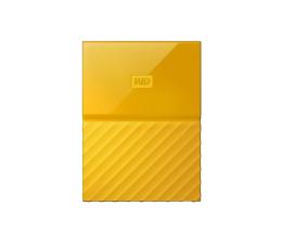 WD My Passport 4TB USB 3.0 Żółty (WDBYFT0040BYL-WESN)