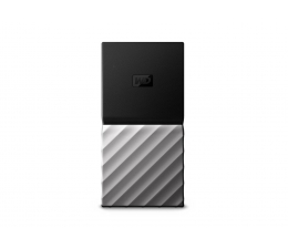 WD My Passport Blue SSD 1TB srebrny USB 3.1 (WDBK3E0010PSL-WESN)