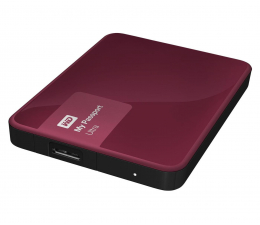 WD My Passport Ultra 1TB bordowy USB 3.0 (WDBGPU0010BBY-EESN)