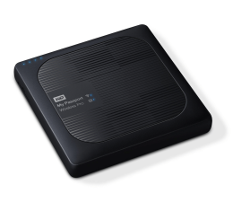 WD My Passport Wireless Pro 3TB WiFi czarny (WDBSMT0030BBK-EESN)