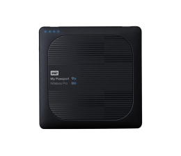 WD My Passport Wireless Pro 4TB czarny WiFi (WDBSMT0040BBK-EESN)