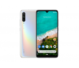 Xiaomi Mi A3 4/128GB White + Mi Band 4 czarny