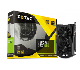 Zotac GeForce GTX 1050 OC 2GB GDDR5  (ZT-P10500C-10L)
