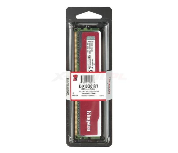 Kingston 4096MB 1600MHz HyperX Blu Red CL9 - 104653 - zdjęcie 2