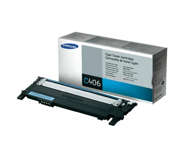 Samsung CLT-C406S cyan 1000str. - 116315 - zdjęcie