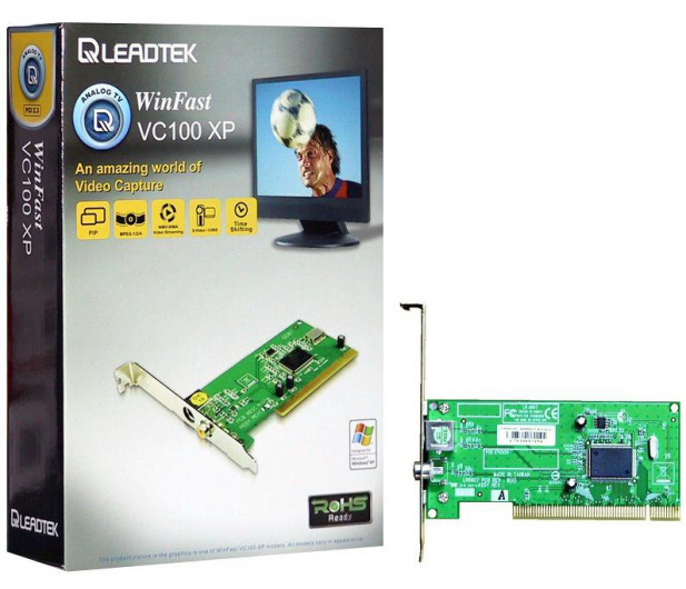 LEADTEK WINFAST VC100 XP PCI DRIVERS (2019)