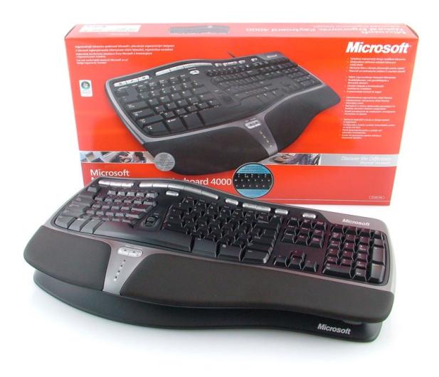 Microsoft Natural Ergonomic Keyboard 4000 - 13035 - zdjęcie 5