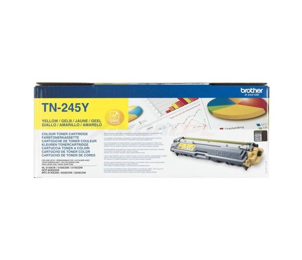 Brother TN245Y yellow 2200str. - 151209 - zdjęcie