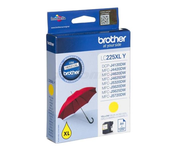 Brother LC225XLY yellow 1200 str. - 213028 - zdjęcie 2
