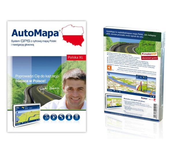 Aqurat Automapa Polska Mapy Do Nawigacji Gps Sklep Komputerowy