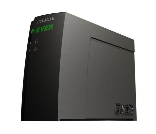 Ever Duo II PRO 1000 (1000VA/600W, 4xIEC, USB, RJ-11) - 44385 - zdjęcie