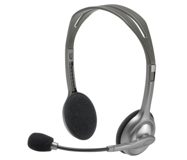 Logitech H110 Headset z mikrofonem - 55165 - zdjęcie