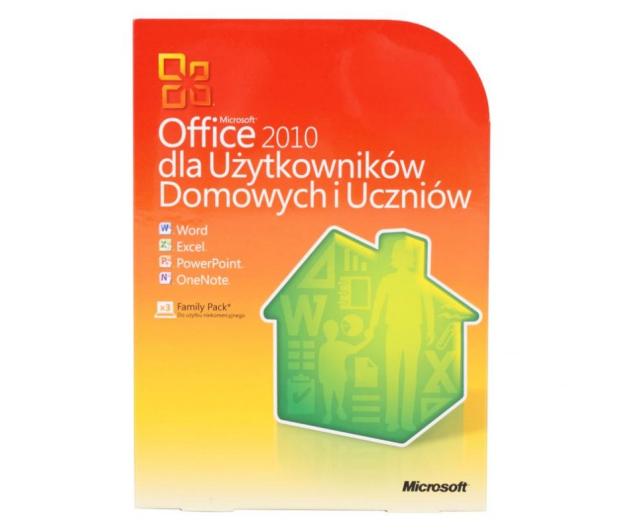 Microsoft Office 2010 / 2013 dla Użyt. Domowych (BOX) - 57454 - zdjęcie 3