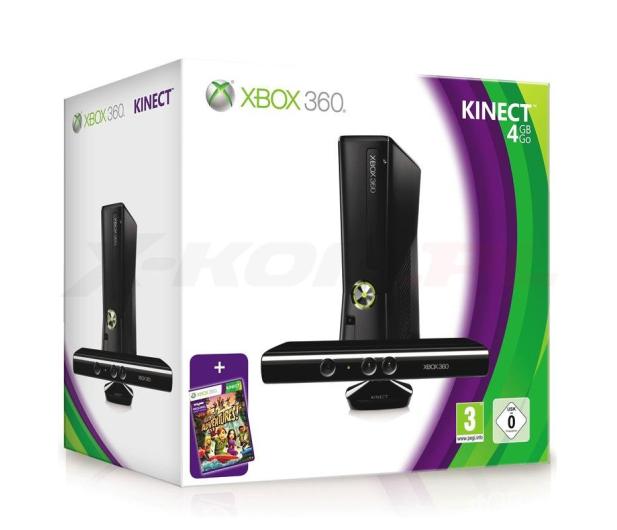 Microsoft XBOX 360 4GB + Kinect - 61715 - zdjęcie 2