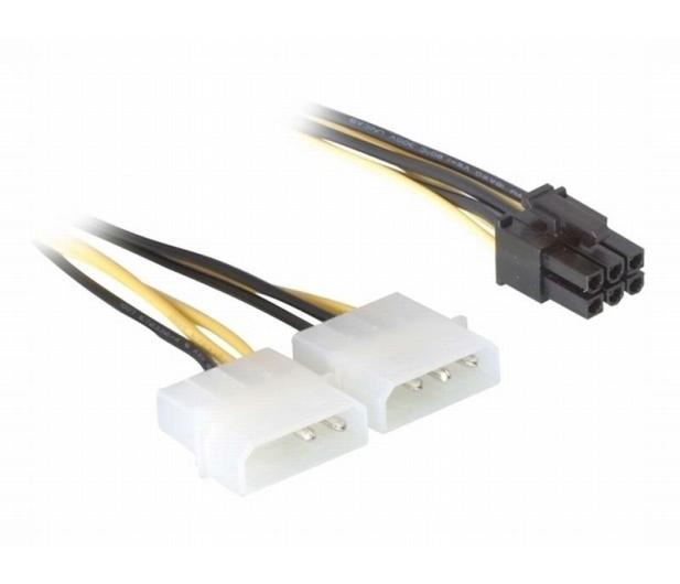 Gembird Przejściówka 2x Molex - PCIe (zasilanie grafiki) - 64469 - zdjęcie