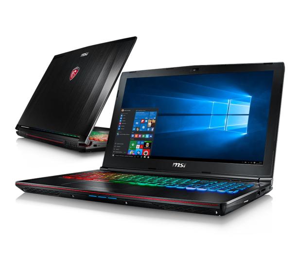 MSI GE62 Apache Pro i7-7700HQ/8GB/1TB/Win10X GTX1050Ti - 349621 - zdjęcie
