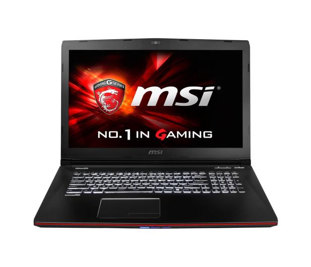 MSI GE72 2QC i7-5700HQ/8GB/1000/DVD-RW GTX960M FHD - 257051 - zdjęcie 2