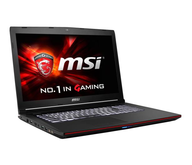 MSI GE72 2QC i7-5700HQ/8GB/1000/DVD-RW GTX960M FHD - 257051 - zdjęcie 5