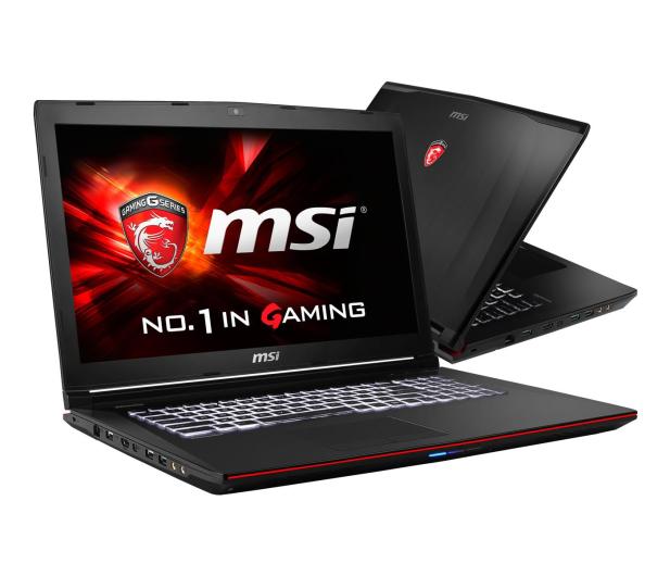 MSI GE72 2QC i7-5700HQ/8GB/1000/DVD-RW GTX960M FHD - 257051 - zdjęcie