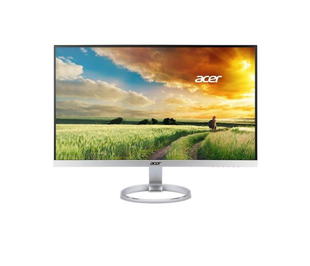 Acer H277HKSMIPUZ srebrno-biały - 386280 - zdjęcie