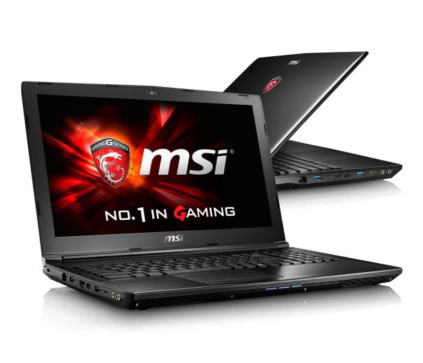 MSI GL62 i5-6300HQ/4GB/1TB 940MX 2GB FHD - 317476 - zdjęcie