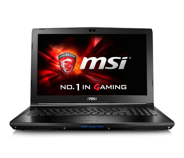 MSI GL62 i5-6300HQ/4GB/1TB 940MX 2GB FHD - 317476 - zdjęcie 2