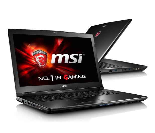 MSI GL72 i7-6700HQ/16GB/1TB+120SSD GF940MX FHD  - 299775 - zdjęcie
