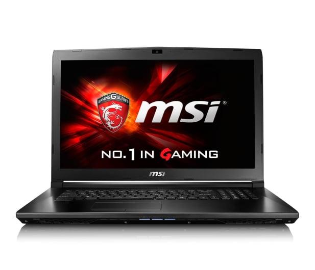 MSI GL72 i7-6700HQ/16GB/1TB+120SSD GF940MX FHD  - 299775 - zdjęcie 2