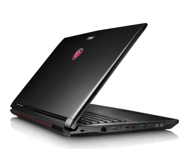 MSI GL72 i7-6700HQ/16GB/1TB+120SSD GF940MX FHD  - 299775 - zdjęcie 3