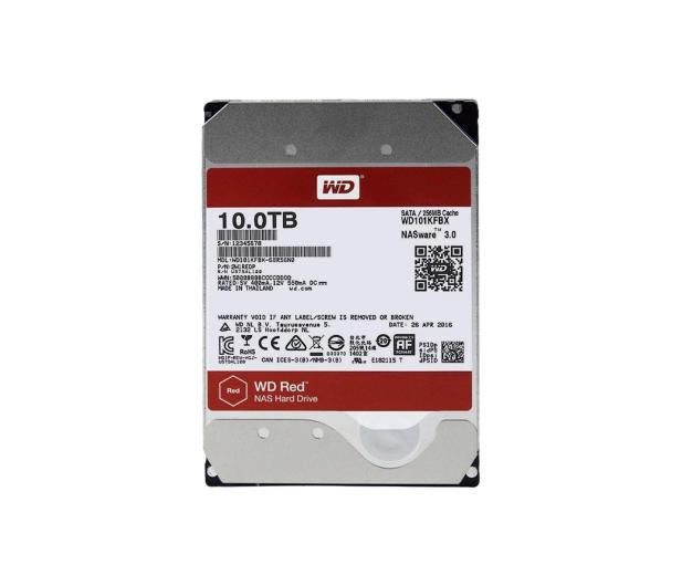 WD RED PRO 10TB 7200obr. 256MB  - 386454 - zdjęcie