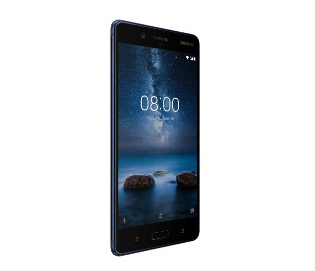 Nokia 8 Dual SIM błyszczący niebieski  - 386998 - zdjęcie 5