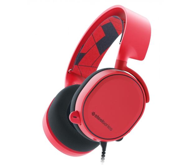 SteelSeries Arctis 3 Czerwone - 385684 - zdjęcie 1