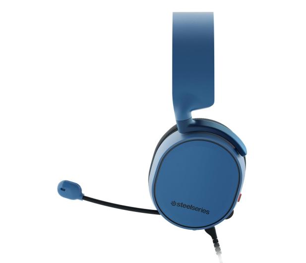 SteelSeries Arctis 3 Niebieskie - 385686 - zdjęcie 3