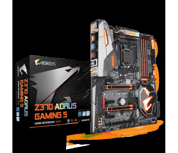 Gigabyte Z370 AORUS Gaming 5 - 387340 - zdjęcie