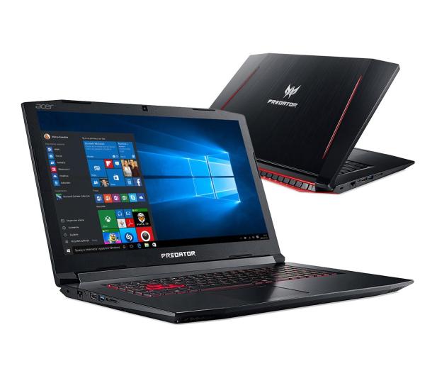 Acer Helios 300 i7-7700HQ/16GB/120+1000/Win10 GTX1060 - 387528 - zdjęcie