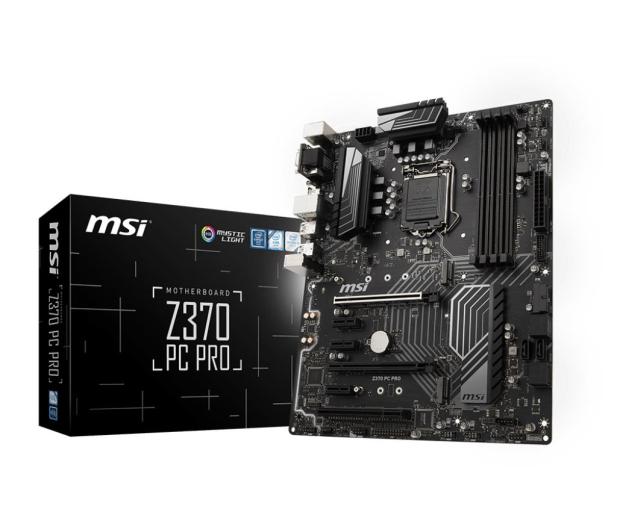 MSI Z370 PC PRO - 386511 - zdjęcie
