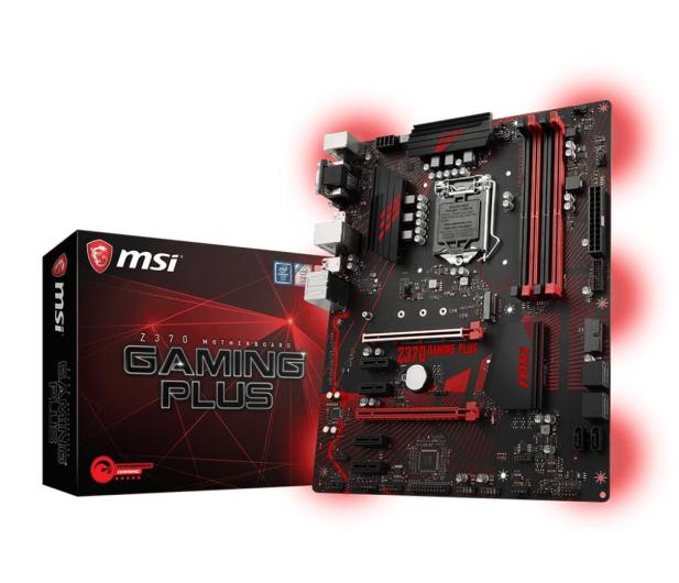 MSI Z370 GAMING PLUS - 386515 - zdjęcie