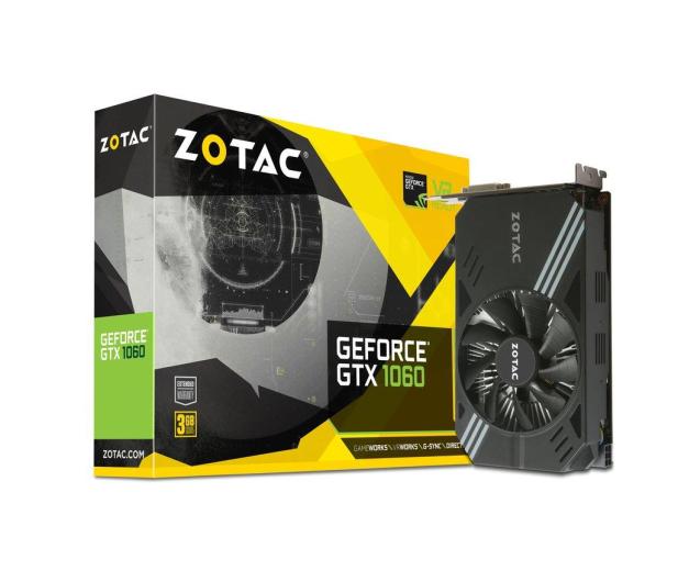 Zotac GeForce GTX 1060 MINI 3GB GDDR5 - 387530 - zdjęcie