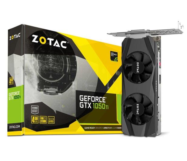 Zotac GeForce GTX 1050 Ti Low Profile 4GB GDDR5  - 387596 - zdjęcie