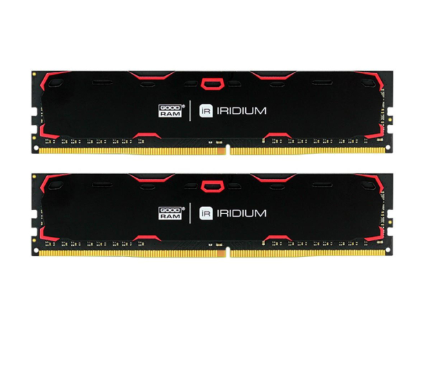 GOODRAM 16GB 2133MHz IRIDIUM Black CL15 (2x8GB) - 387067 - zdjęcie