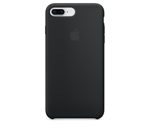 Apple Silicone Case do iPhone 7/8 Plus Black - 387677 - zdjęcie