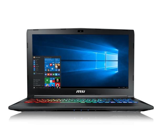 MSI GP62M i7-7700HQ/16GB/1TB+120SSD/Win10X GTX1050Ti  - 390743 - zdjęcie 2